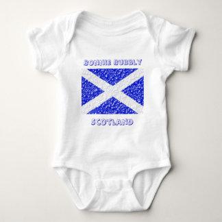 St Andrews Flag Bubble Textured Baby Bodysuit