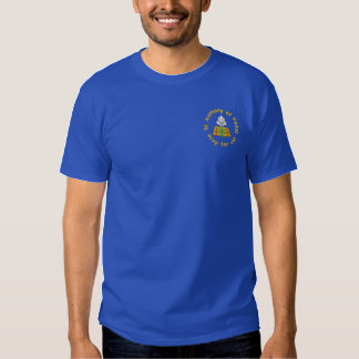 St. Anthony of Padua, Pray for us Embroidered T-Shirt