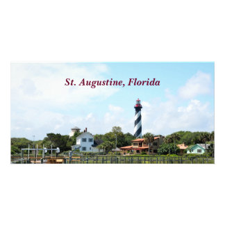 St. Augustine, Florida landscape photo card