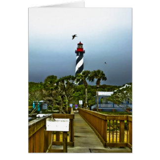 St. Augustine, Florida Lighthouse Card