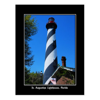 St. Augustine Florida Lighthouse  Original Photogr Postcard
