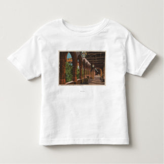 St. Augustine, Florida - View of Hotel Ponce de Toddler T-Shirt