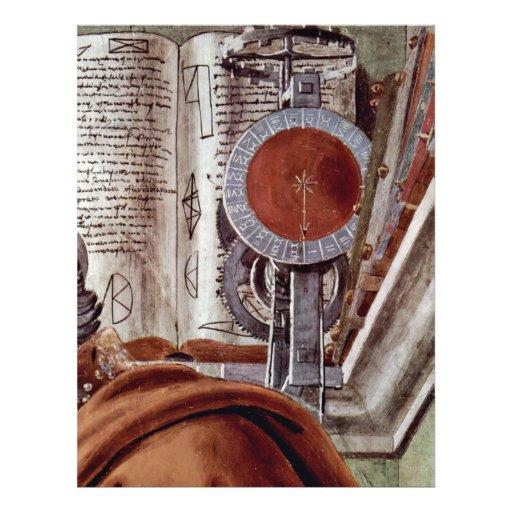 St. Augustine In Contemplative Prayer Detail Flyers