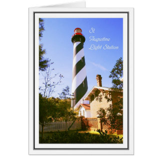 St. Augustine Light Station Card