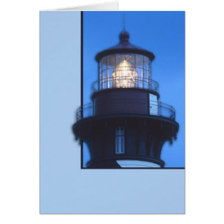 St Augustine Lighthouse Card