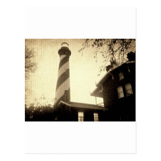 St. Augustine Lighthouse Postcard