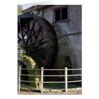 St. Augustine Watermill Card