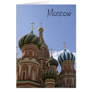 St. Basil Cathedral Card