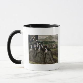 St. Claire with her Sister, Agnes and Nuns Mug