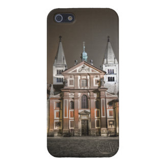 St.George Church Prague Castle Night Cover For iPhone 5/5S