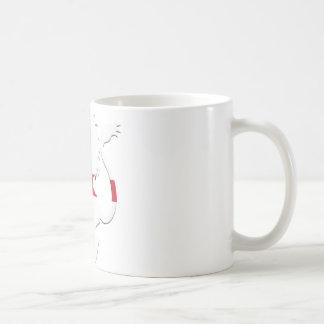 St George's Cross Lion Rampant Coffee Mug