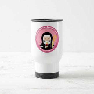 St. Gertrude the Great Travel Mug