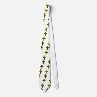 St James Cross in Gold Tint Tie