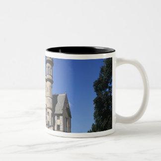 St James, Port of Spain, Trinidad, Caribbean Two-Tone Coffee Mug