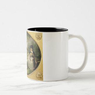 St. James's Park (oil on canvas) Two-Tone Coffee Mug