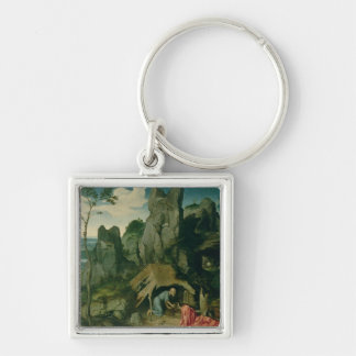 St. Jerome in the Desert (oil on panel) (see also Key Ring