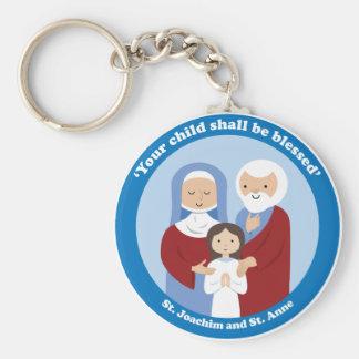 St. Joachim and St. Anne Key Ring