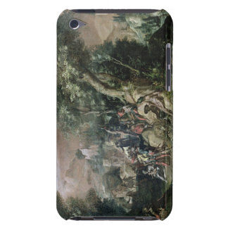 St. John the Baptist Preaching (oil on canvas) iPod Touch Cases