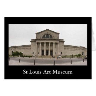 St Louis Art Museum Card