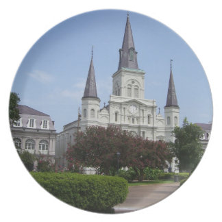 St. Louis Cathedral Plate
