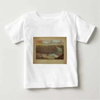 St. Louis Missouri by George Degen from 1873 Baby T-Shirt