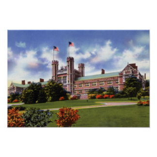 St. Louis Missouri Washington University Poster