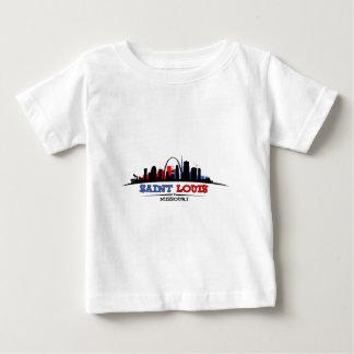 St. Louis Skyline Design Baby T-Shirt