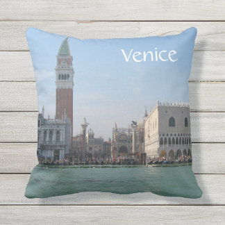 St. Mark's Square from the Grand Canal Cushion