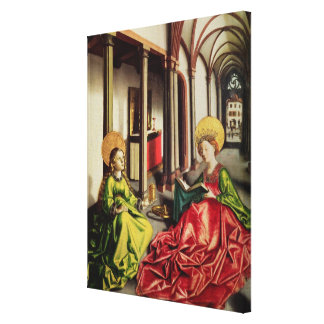 St. Mary Magdalene and St. Catherine of Alexandria Canvas Print