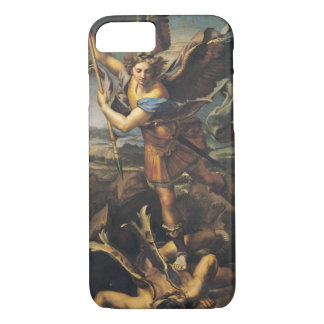 St. Michael Overwhelming the Demon, 1518 iPhone 7 Case