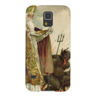St Nicholas Krampus Pitchfork Priest Galaxy S5 Cover