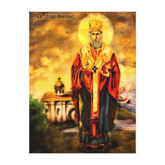 St. Nikola Canvas Print