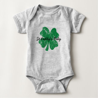 St Paddy's Day Conception Baby Bodysuit