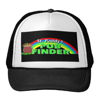 St. Paddy's Day Pub Finder Trucker Hats