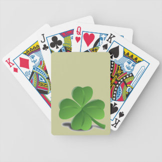 St. Patrick's Day  Shamrock Clover Playing Cards