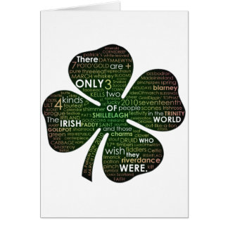 St Patrick's Day 2010 Card