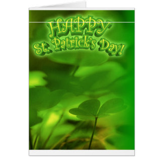 ST. Patrick's Day Card (BLANK)
