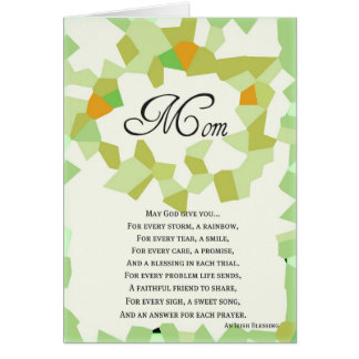 St. Patrick's Day Cards-Mom Card