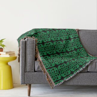 St. Patrick's Day. Celtic Knot. Throw Blanket