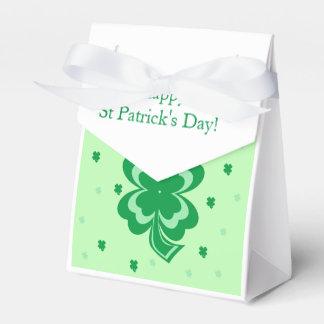 St Patrick's Day Favor Boxes