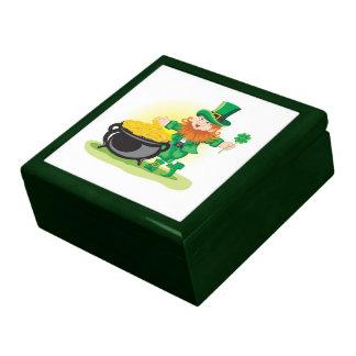 St Patricks Day Gift or Jewellery Box Jewelry Box