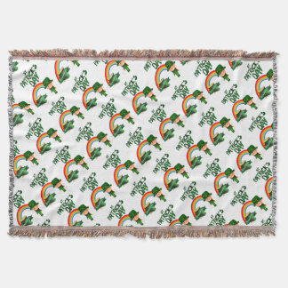 St Patrick's Day gifts Throw Blanket