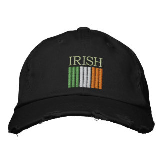 St. Patrick's Day Ireland Flag Hat Embroidered Cap