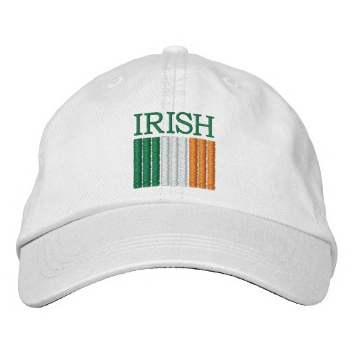 St. Patrick's Day Ireland Flag Hat Embroidered Hats