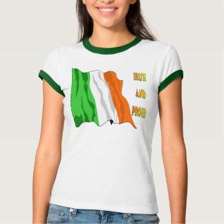 St Patrick's Day Irish Flag T-Shirt