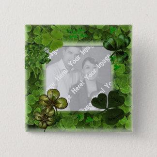 St. Patrick's Day Photo Button