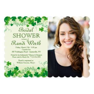 St. Patrick's Day Photo Invitation