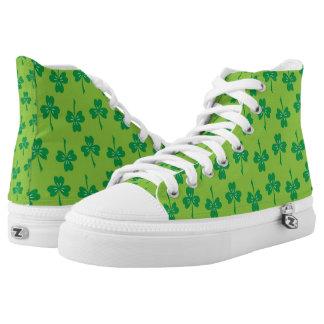 St. Patrick's Day Shamrocks High Tops