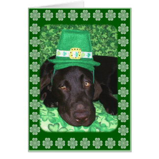 St. Patrick's Greeting Card