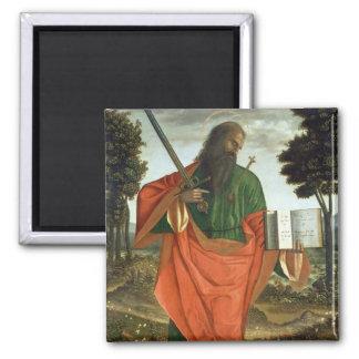 St. Paul, 1520 (oil on panel) Magnet